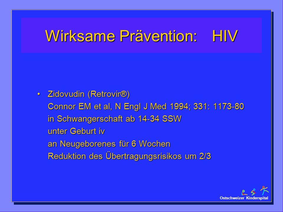 Wirksame Prävention: HIV