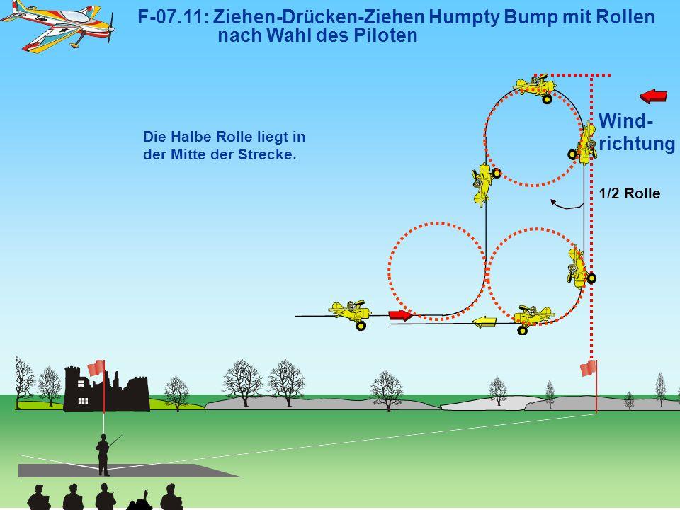 F-07. 11: Ziehen-Drücken-Ziehen Humpty Bump mit Rollen