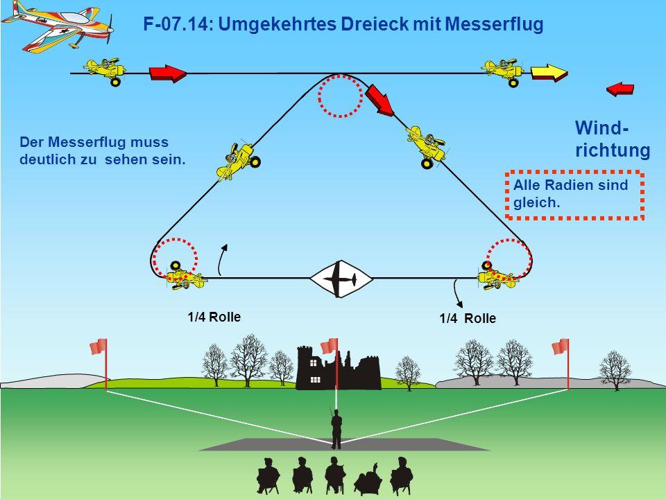 F-07.14: Umgekehrtes Dreieck mit Messerflug