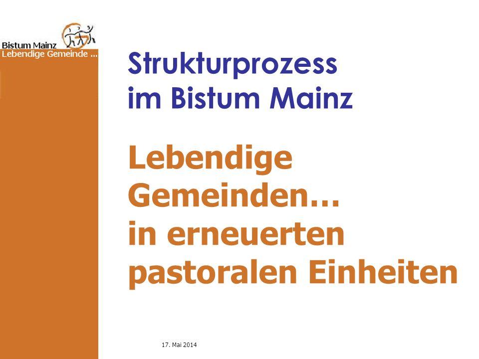 Strukturprozess im Bistum Mainz