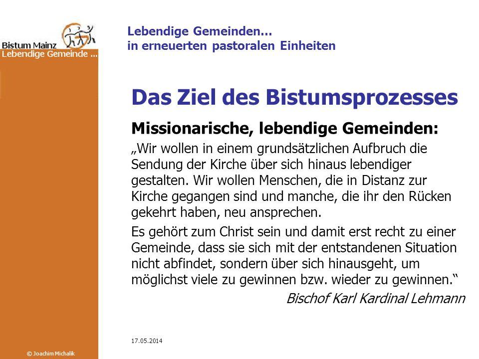 Das Ziel des Bistumsprozesses
