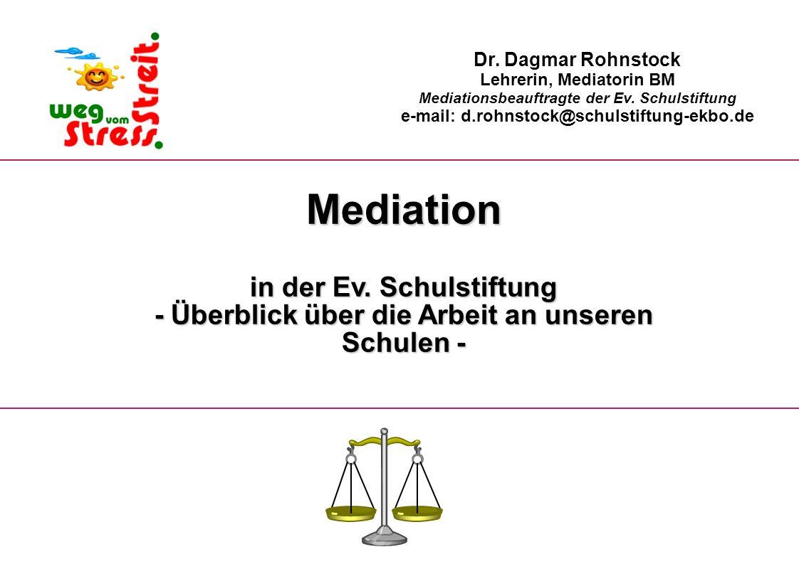 Mediation in der Ev. Schulstiftung