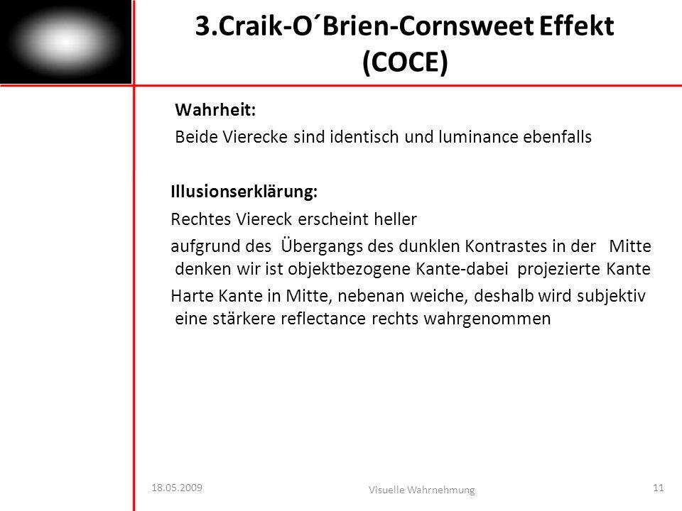 3.Craik-O´Brien-Cornsweet Effekt (COCE)