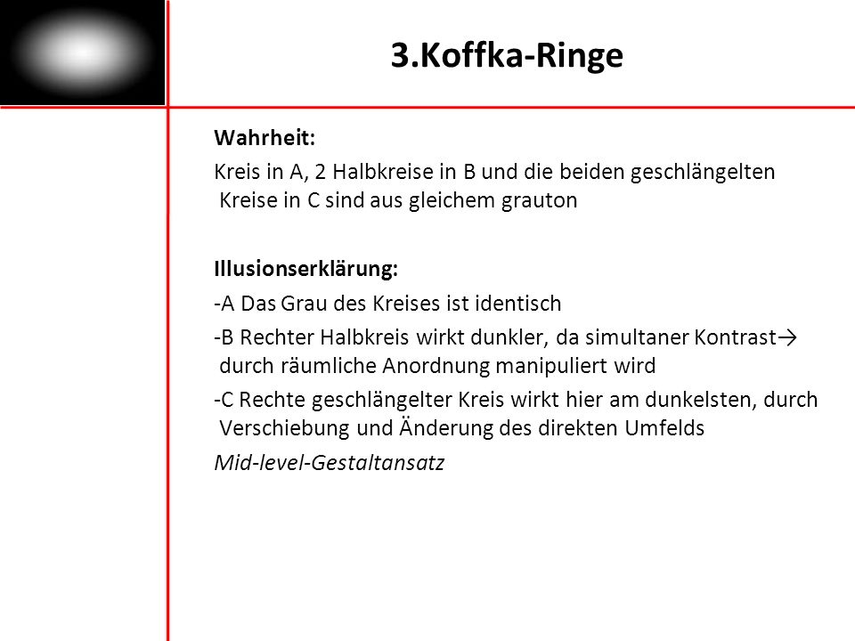 3.Koffka-Ringe Wahrheit: