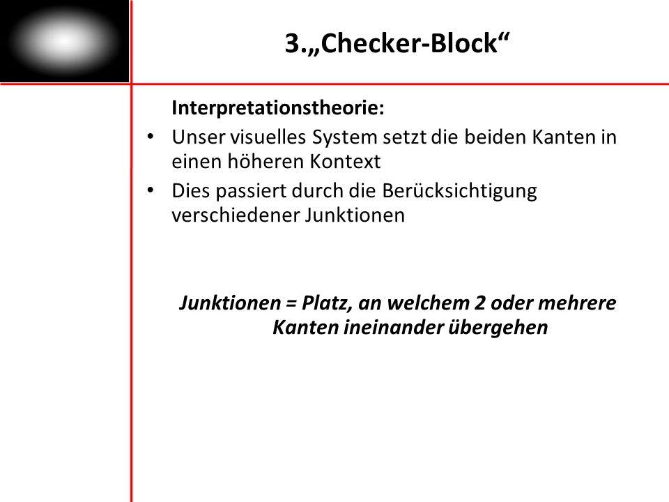 "3.""Checker-Block Interpretationstheorie:"