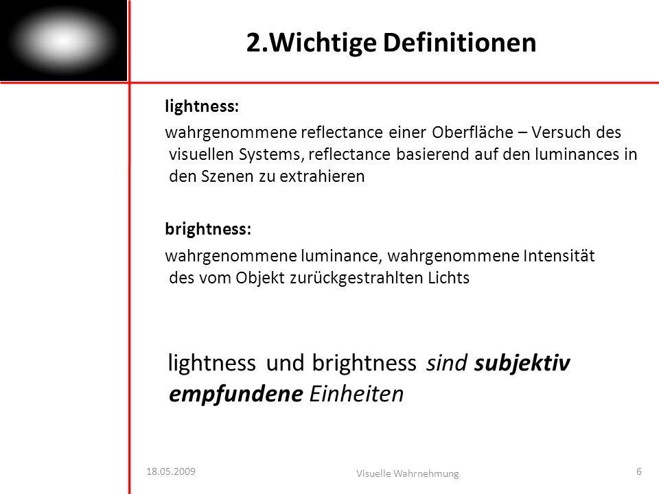 2.Wichtige Definitionen