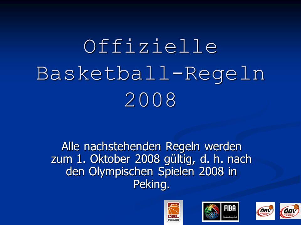 Offizielle Basketball-Regeln 2008