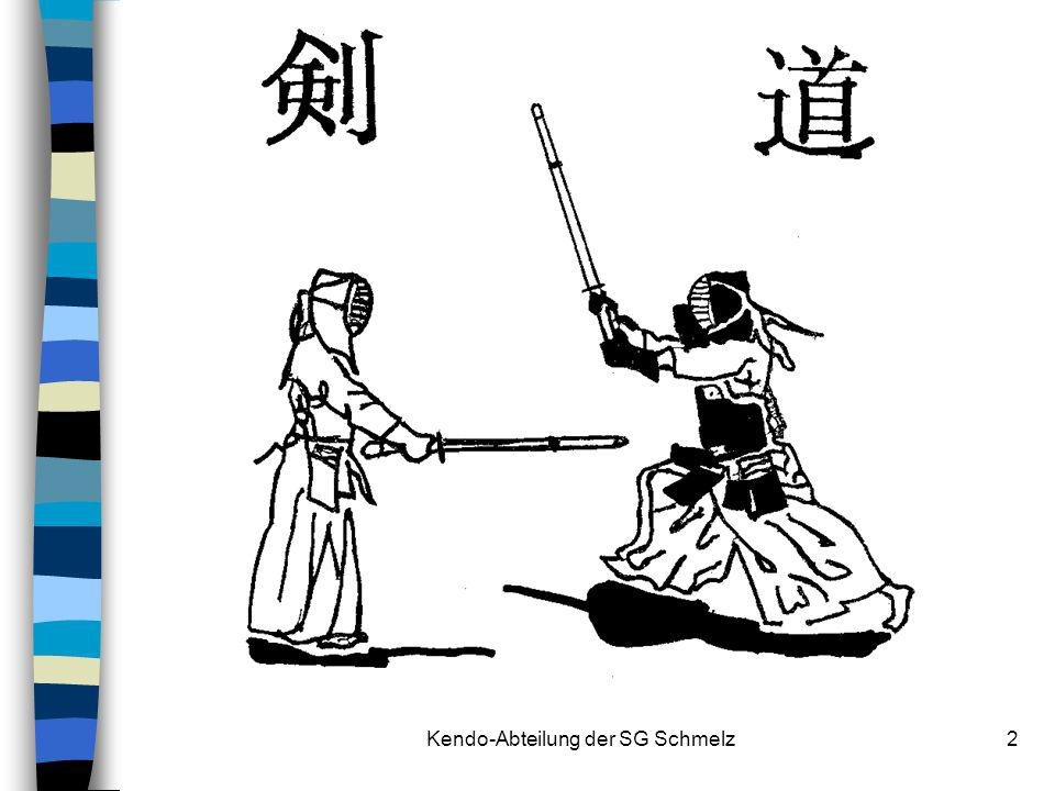 Kendo-Abteilung der SG Schmelz
