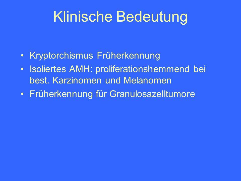 Klinische Bedeutung Kryptorchismus Früherkennung