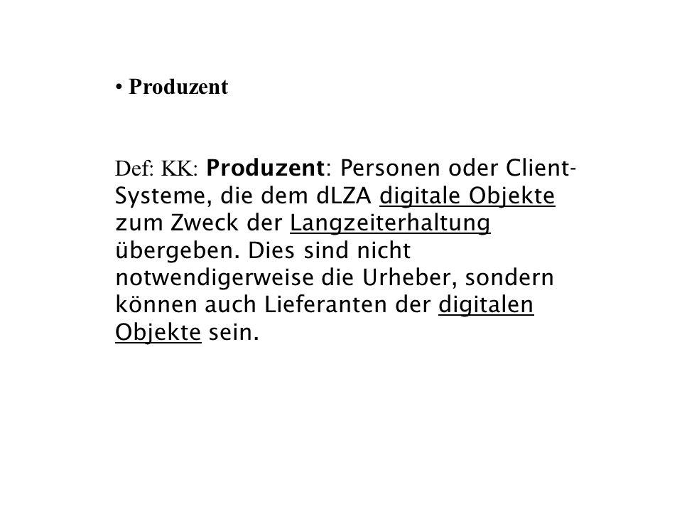 Produzent