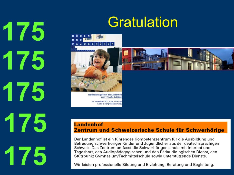 Gratulation 175 175 175 175 175