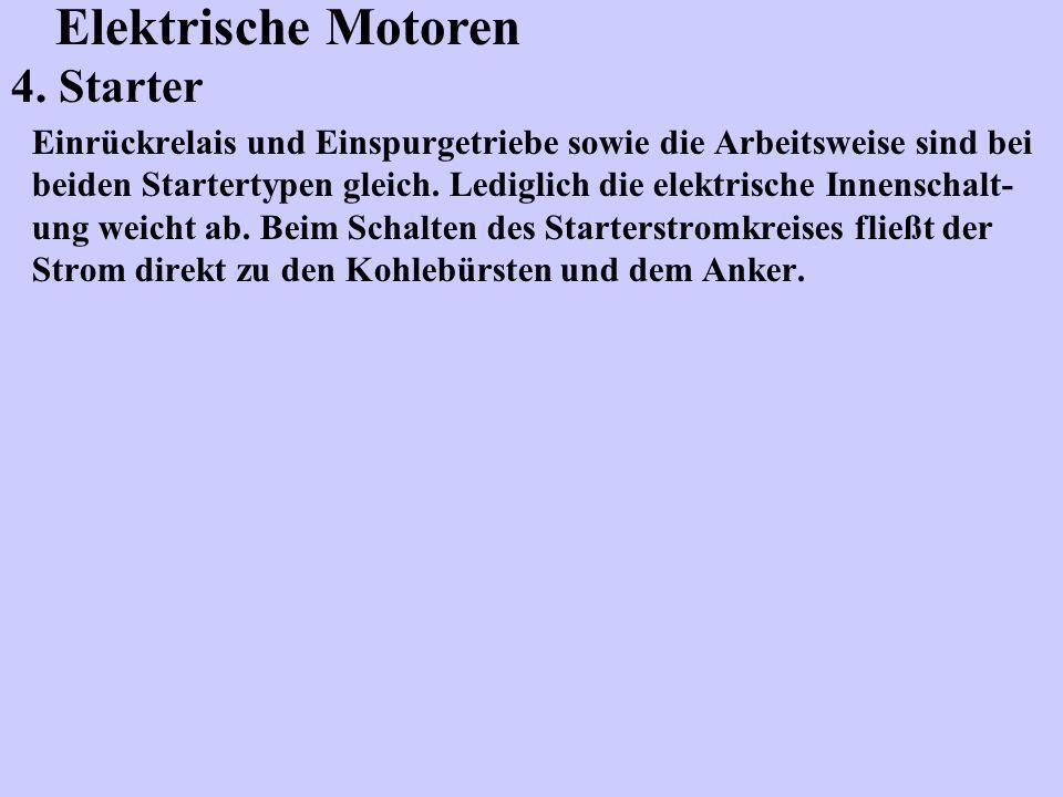 Elektrische Motoren 4. Starter