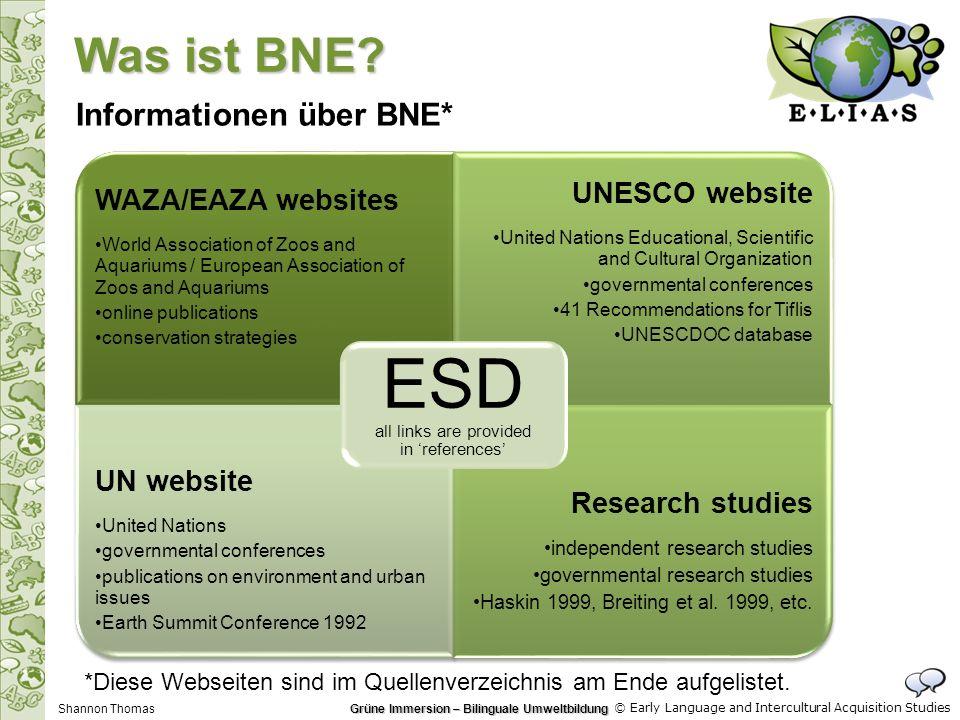 Grüne Immersion – Bilinguale Umweltbildung