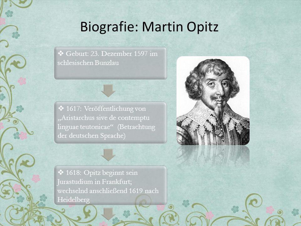 Biografie: Martin Opitz