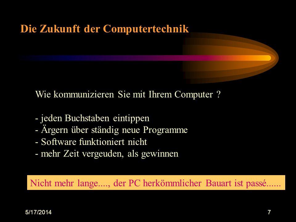 Die Zukunft der Computertechnik