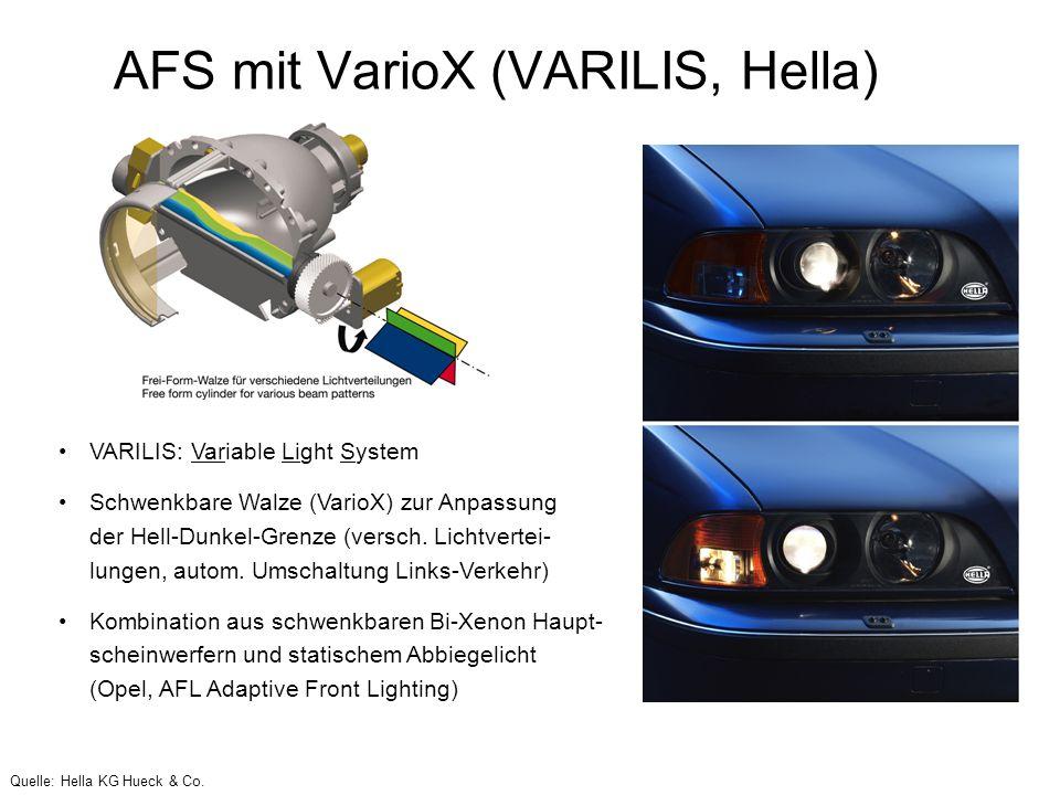 AFS mit VarioX (VARILIS, Hella)
