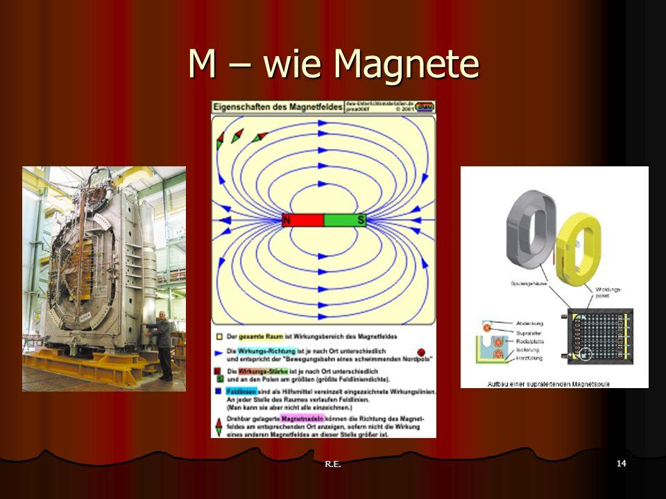 M – wie Magnete R.E.