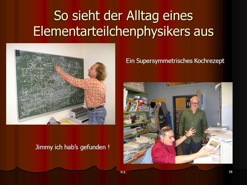 So sieht der Alltag eines Elementarteilchenphysikers aus