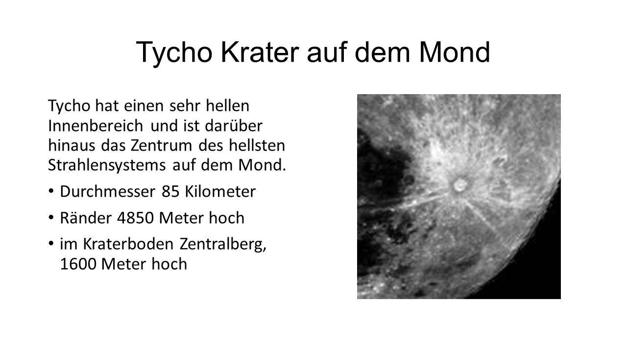 Tycho Krater auf dem Mond