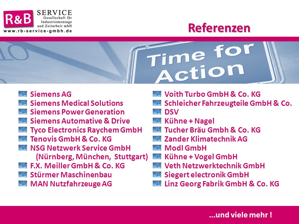 Referenzen Siemens AG Siemens Medical Solutions
