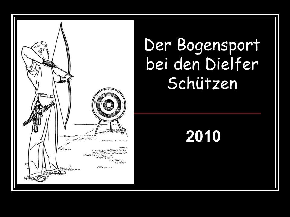 Der Bogensport bei den Dielfer Schützen