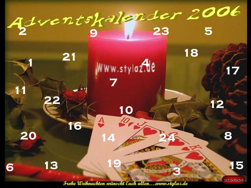 Frohe Weihnachten wünscht Euch allen….www.stylaz.de