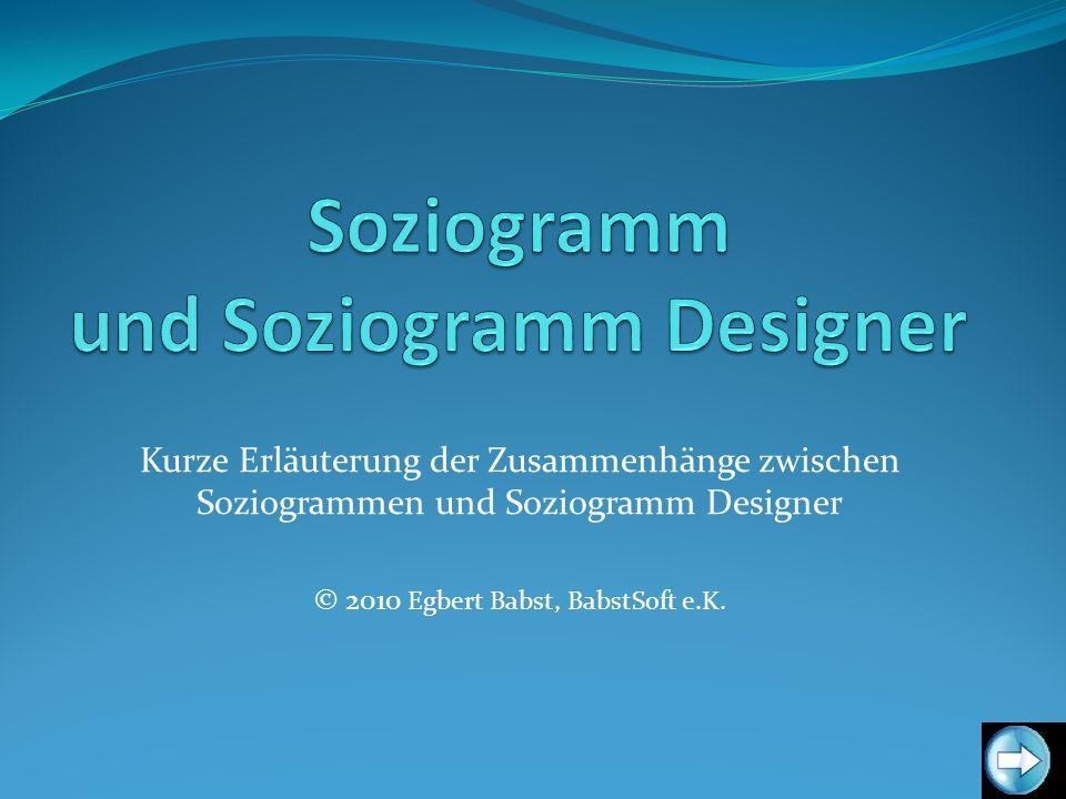 Soziogramm und Soziogramm Designer