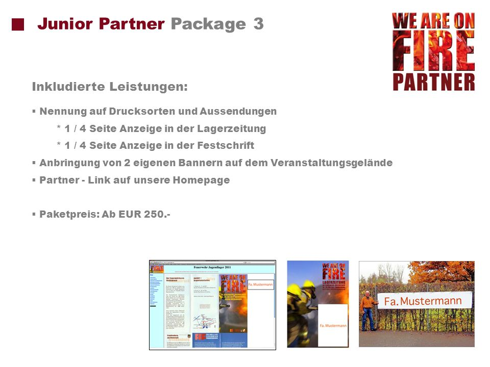 Junior Partner Package 3