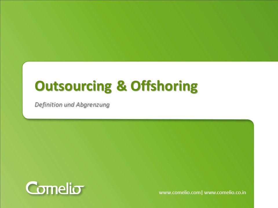 Outsourcing & Offshoring Definition und Abgrenzung