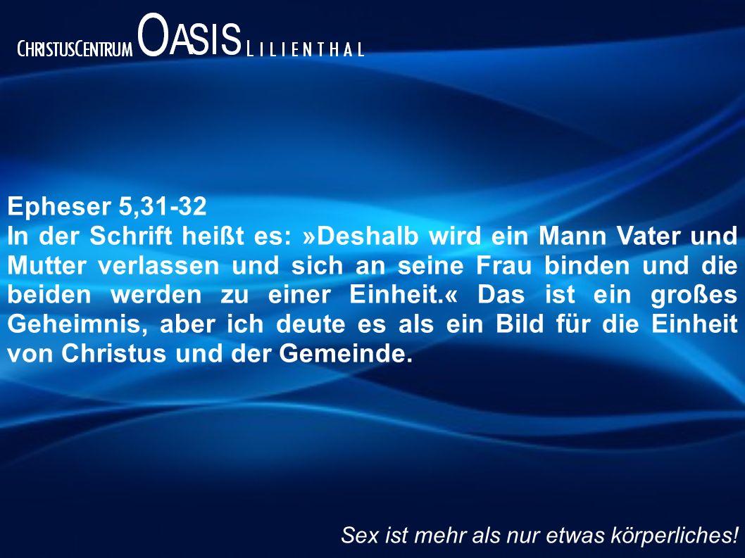 Epheser 5,31-32
