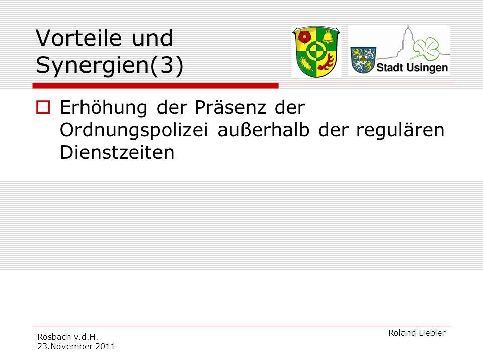 Vorteile und Synergien(3)