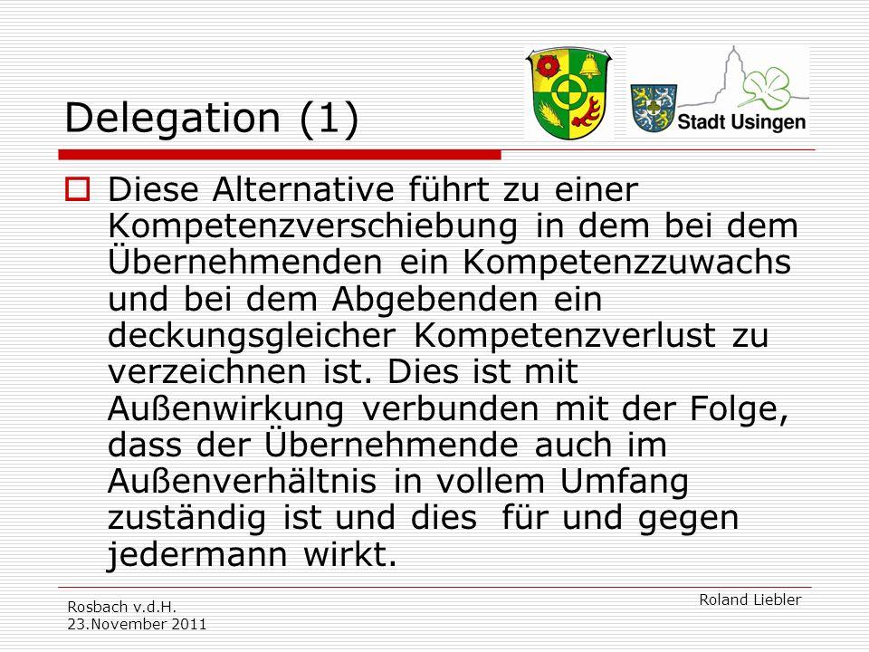Delegation (1)