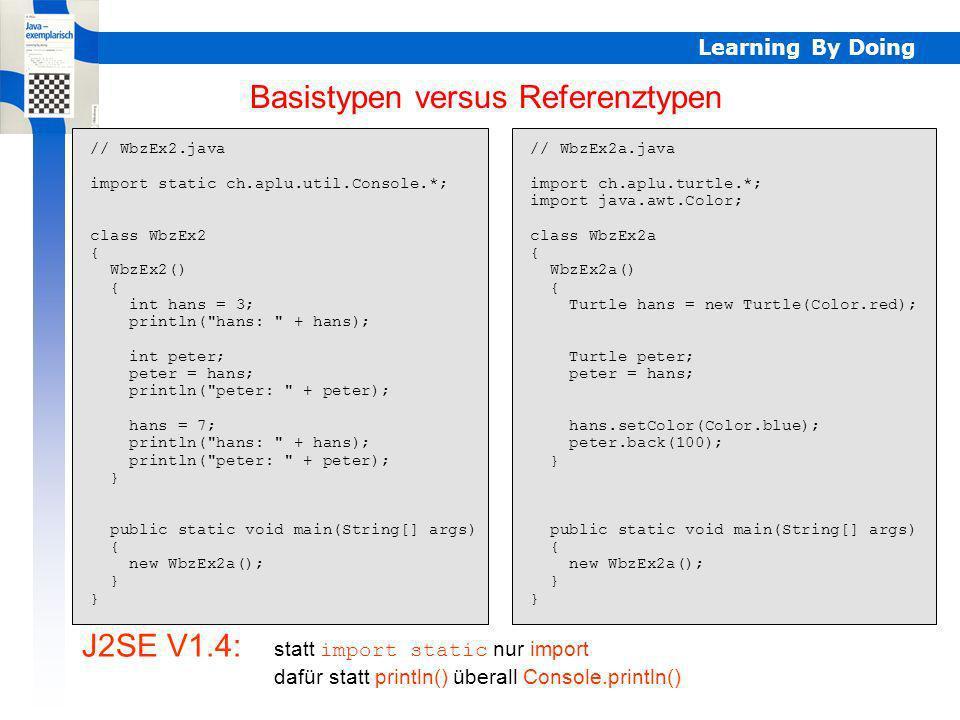 Basistypen/Referenztypen