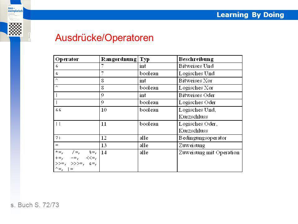Ausdrücke/Operatoren