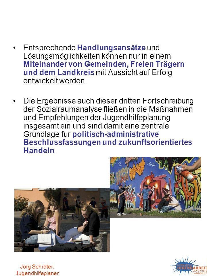 Jörg Schröter, Jugendhilfeplaner