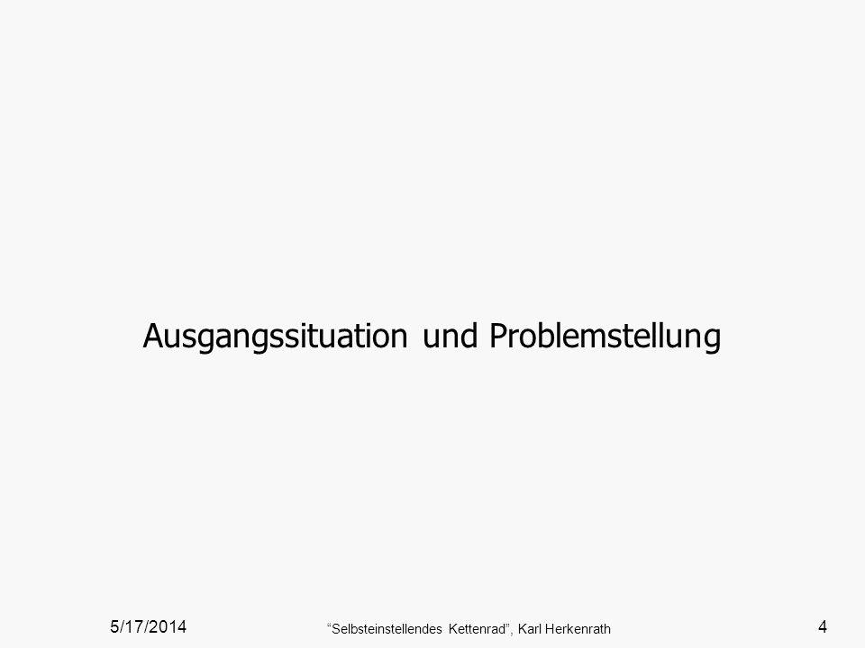 Ausgangssituation und Problemstellung