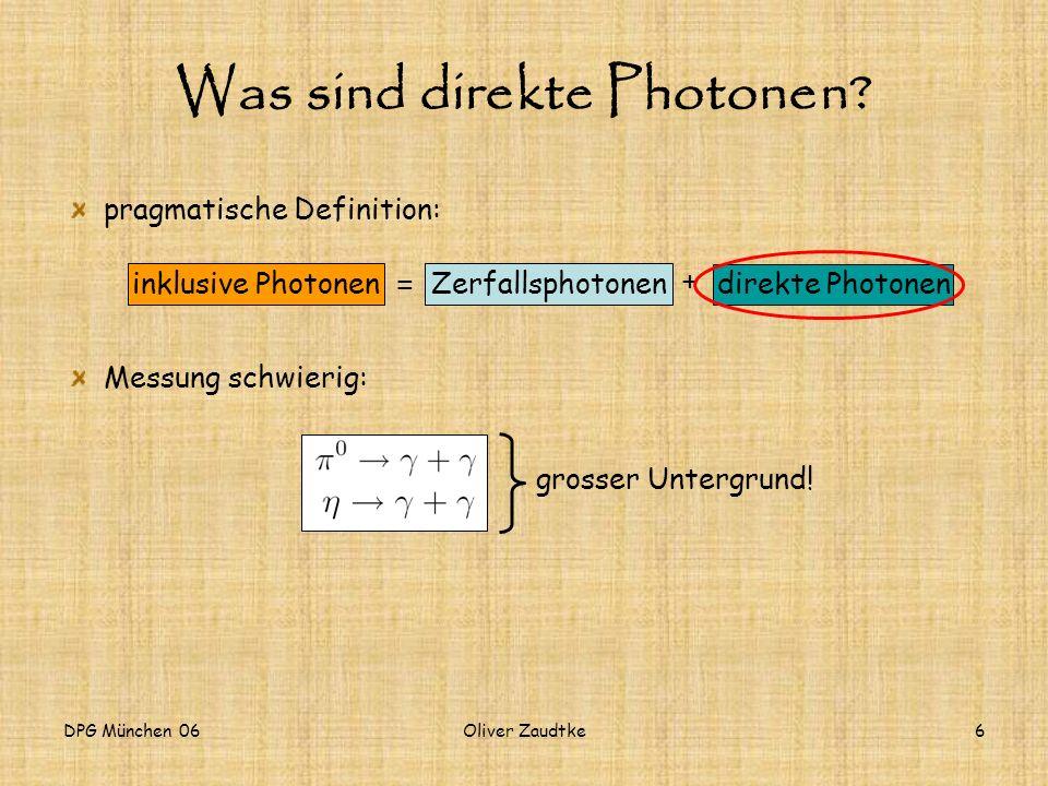 Was sind direkte Photonen