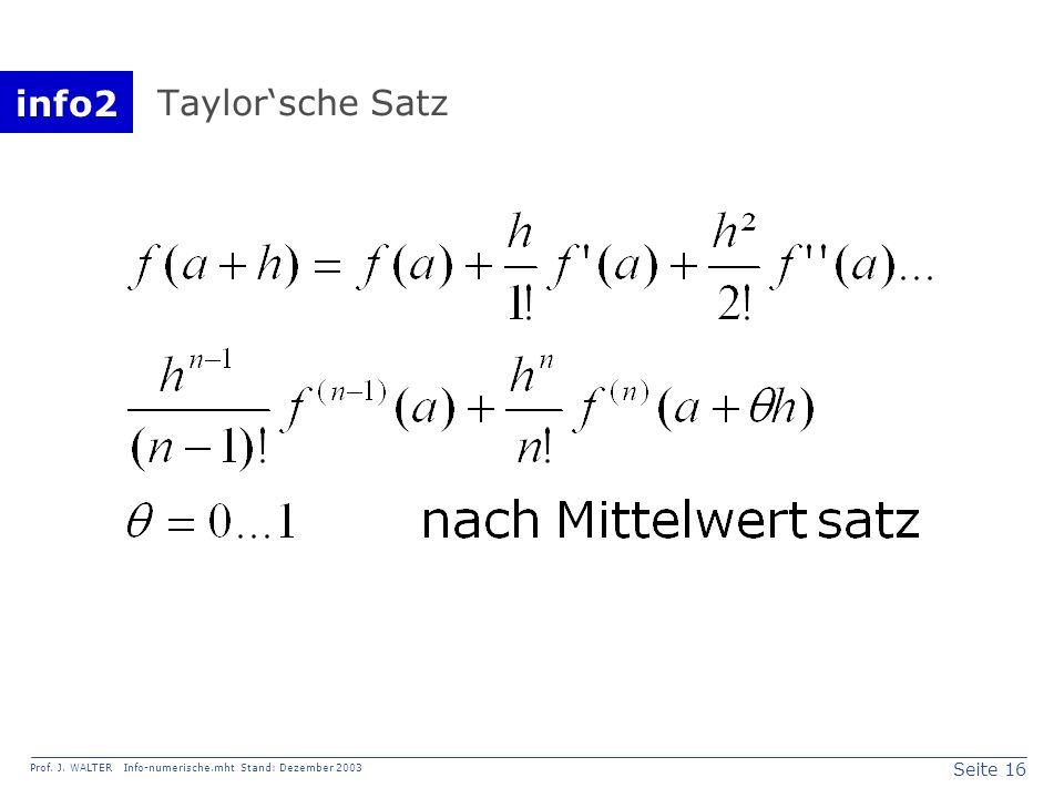 Taylor'sche Satz