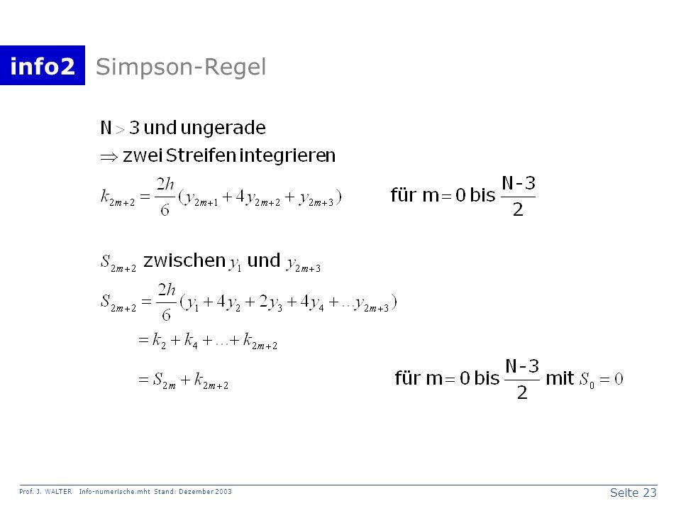 Simpson-Regel