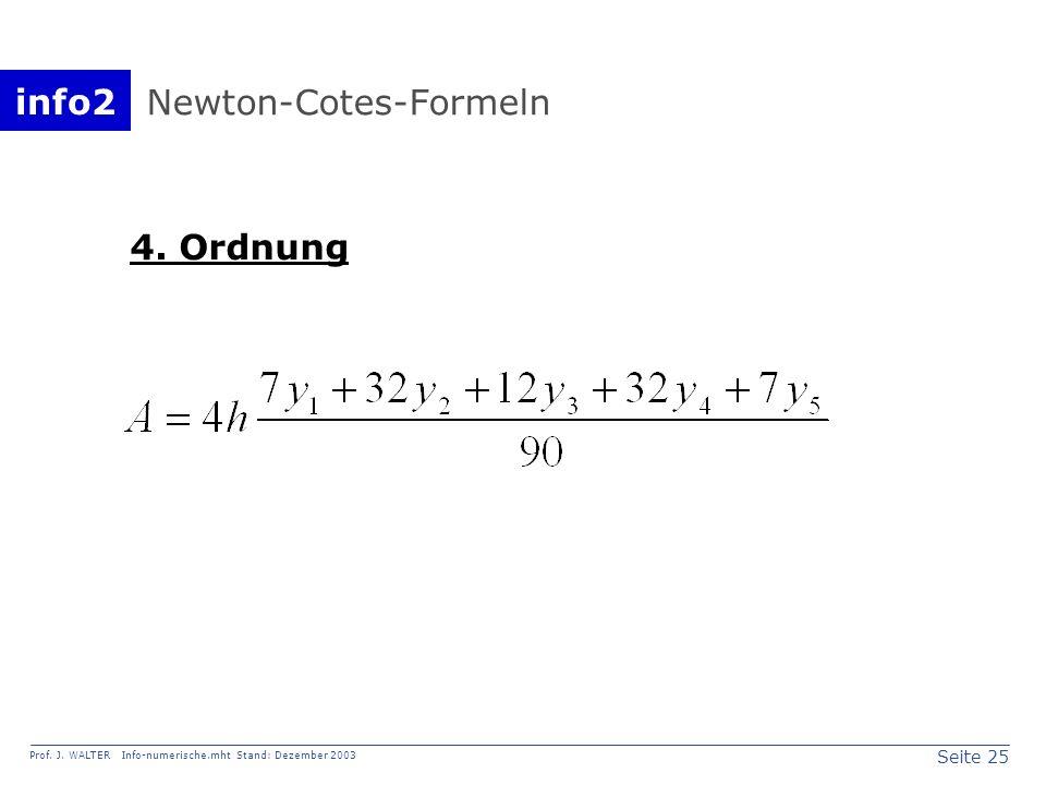 Newton-Cotes-Formeln