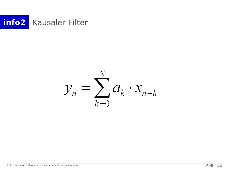 Kausaler Filter