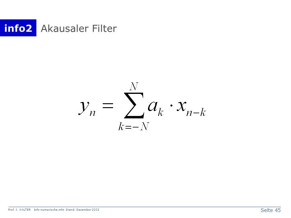 Akausaler Filter