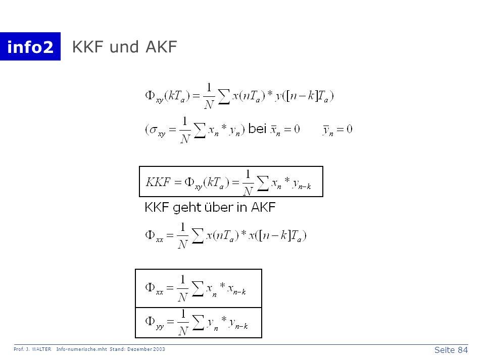 KKF und AKF