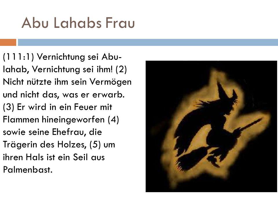 Abu Lahabs Frau