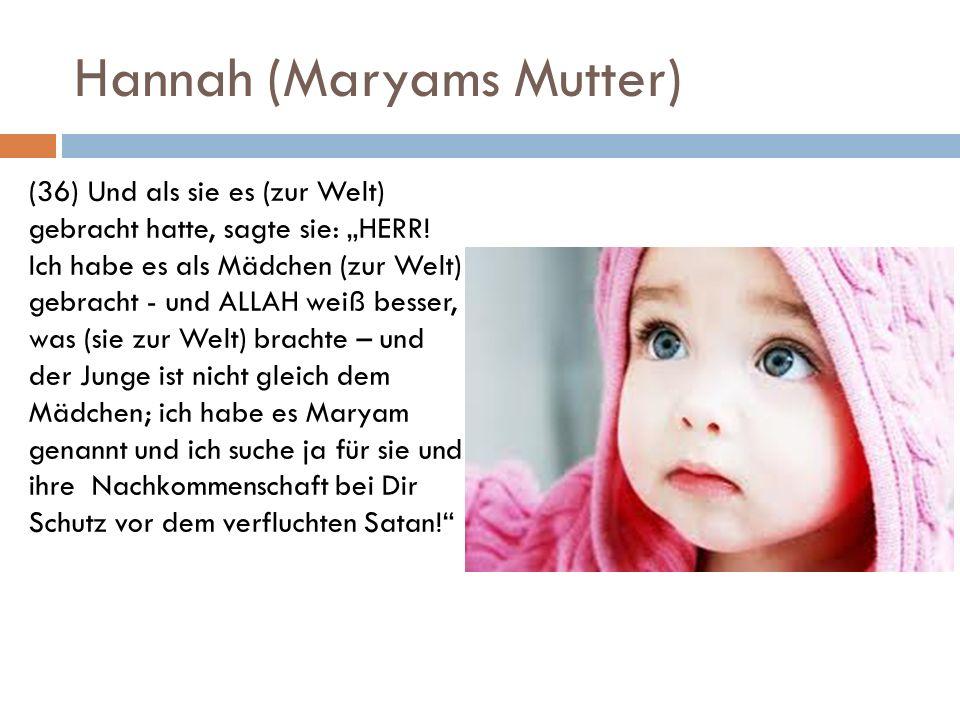 Hannah (Maryams Mutter)