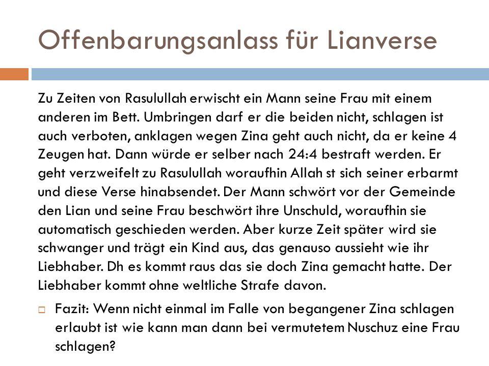 Offenbarungsanlass für Lianverse