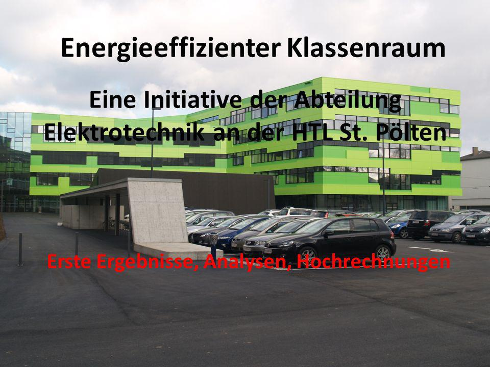 Eine Initiative der Abteilung Elektrotechnik an der HTL St. Pölten