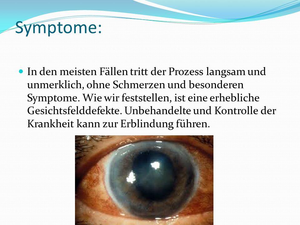 Symptome: