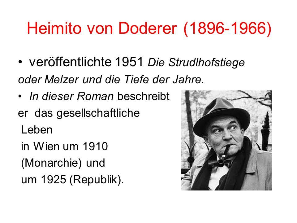 1966)-(1896 Heimito von Doderer