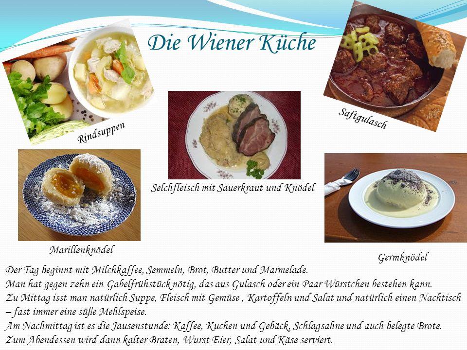 Die Wiener Küche Saftgulasch Rindsuppen